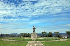 Nuno Alvares Pereira. Statue Of Nuno Alvares Pereira At Ourem Castle Royalty Free Stock Images