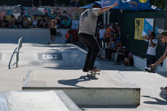 Nuno Cardoso during the DC Skate Challenge Stock Photography