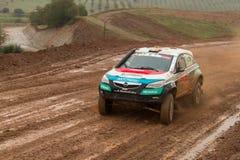 Nuno Matos drives a Opel Astra Proto Royalty Free Stock Photo