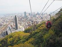 Nunobiki herb garden ropeway Kobe Stock Photo