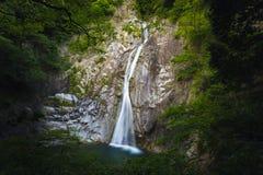 Nunobiki-Wasserfall Japan stockfoto