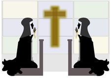 Nuns Royalty Free Stock Photos
