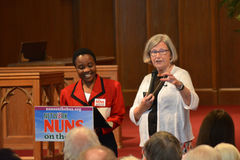 Nuns on the Bus Sister Simone Campbell Royalty Free Stock Images