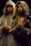 Nuns praing Stock Photography