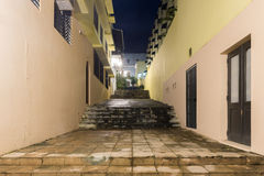 Nuns Stairway - Old San Juan, Puerto Rico Royalty Free Stock Photo