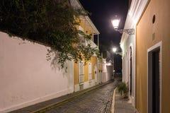 Nuns Street - Old San Juan, Puerto Rico Stock Image