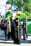 Nuns take part in the religious procession Royalty Free Stock Photography