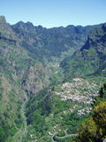 The Nuns Valley in Madeira Royalty Free Stock Photography