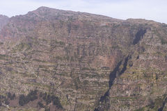Nuns Valley. Mountains around Nuns valley on the island of Madeira royalty free stock images