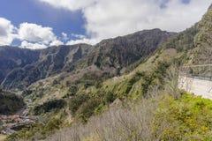 Nuns Valley. Mountains around Nuns valley on the island of Madeira.Portugal royalty free stock photos