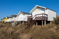 Free NUNSTANTON, NORFOLK/UK - JUNE 2 : Beach Huts At Hunstanton Norfolk On June 2, 2010 Stock Image - 73092501