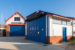 NUNSTANTON, NORFOLK/UK - JUNE 2 : RNLI station at Hunstanton Nor Royalty Free Stock Photo