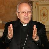 Nunzio galantino,rome,italy. Nunzio Galantino ( Cerignola ,, 16 August 1948 ) se yon Italyen Katolik evèk , ki soti nan 25 mas 2014 Sekretè Jeneral nan Italyen Stock Photo