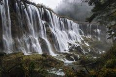 Nuo Ri Lang Waterfall. Chengdu, Sichuan, China Royalty Free Stock Photo