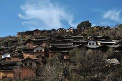 Nuodeng城镇 免版税库存图片