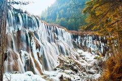 Nuorilang Wasserfall Stockbild