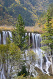 Nuorilang Waterfall. In Jiuzhaigou National Park, China Stock Photos