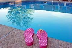 Nuotata di estate Immagini Stock