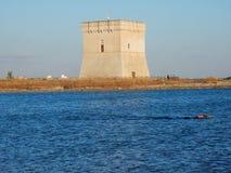 Nuotata een Torre Chianca stock afbeelding