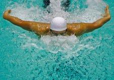 Nuotatore Fotografie Stock Libere da Diritti