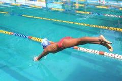 Nuotatore Immagine Stock