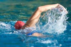 Nuotatore Immagini Stock Libere da Diritti