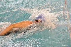 Nuotatore di Crawl immagini stock libere da diritti