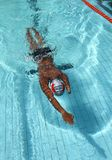 Nuotatore disabile Fotografie Stock Libere da Diritti