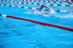Nuotatori Immagini Stock Libere da Diritti