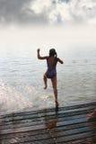 Nuoto fotografie stock