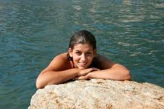 Nuoto fotografia stock