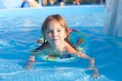 Nuoto del bambino Immagine Stock Libera da Diritti