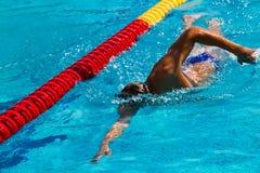 Nuoto - immagine di riserva Immagine Stock