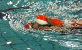Nuoto internazionale di soccorso Fotografia Stock