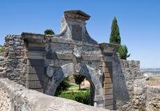 波尔塔nuova。塔尔奎尼亚。拉齐奥。意大利。 免版税库存照片