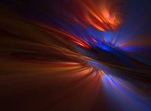 Nuova alba che attraversa Fotografia Stock