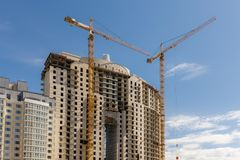 Nuova alta casa Immagine Stock Libera da Diritti