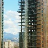 Nuova alta costruzione di aumento Fotografia Stock Libera da Diritti