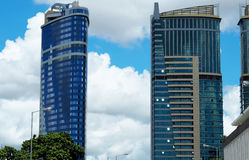 Nuova architettura a Dar es Salaam Immagini Stock