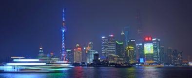 Nuova area di Shanghai Pudong Immagine Stock Libera da Diritti