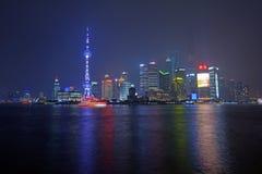 Nuova area di Shanghai Pudong Fotografie Stock