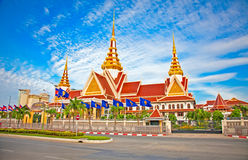 Nuova assemblea nazionale, Phnom Penh, Cambogia Fotografie Stock