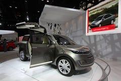 Nuova automobile 2011 di concetto di KIA Fotografia Stock