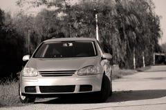 Nuova automobile da vendere Fotografie Stock
