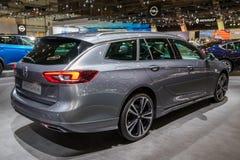 Nuova automobile dello station wagon delle insegne di Opel Immagini Stock Libere da Diritti