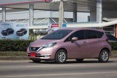 Nuova automobile Nissan Note di Eco Fotografie Stock