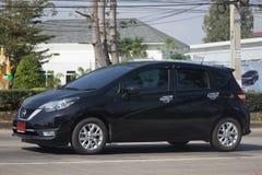 Nuova automobile Nissan Note di Eco Immagini Stock