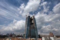 Nuova banca centrale europea Immagini Stock Libere da Diritti