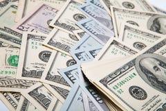 Nuova banconota in dollari 100 Fotografie Stock