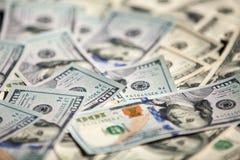 Nuova banconota in dollari 100 Fotografia Stock